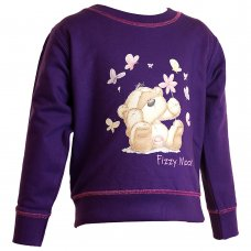 2208901: Girls Fizzy Moon Sweatshirt (3-6 Years)