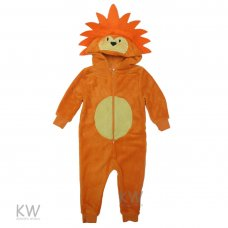 Infant Lion Fleece Onesie (2-6 Years)