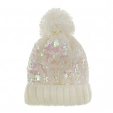 10C162: Girls Sequin Hat (3-13 Years)