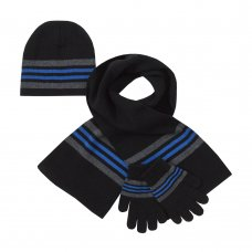 10C166: Infant Boys Hat, Scarf & Gloves Set (2-6 Years)