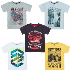 11C098: Infant Boys Printed T-Shirts (2-6 Years)