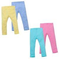 12C118: Infant Girls 2 Pack Leggings (2-6 Years)