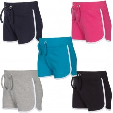 12C122: Infant Girls Interlock Shorts (2-6 Years)