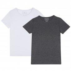 14C886: Kids Short Sleeve Thermal Top (7-13 Years)