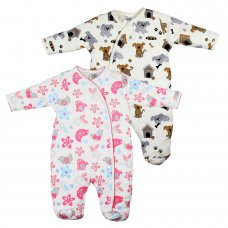 15C203: Baby Padded AOP All In One (0-9 Months)