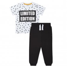 15C388: Boys Limited Edition T-Shirt & Jog Pant Set (2-8 Years)