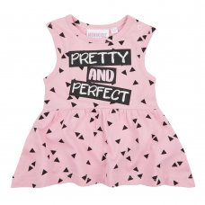 15C391: Baby Girls Pretty & Perfect Summer Dress (NB-24 Months)
