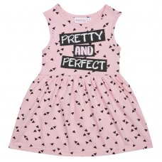 15C392: Girls Pretty & Perfect Summer Dress (4-5 Years)