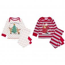 15C413: Baby Christmas Printed Pyjama (6-24 Months)