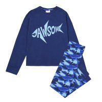 15C456: Older Boys Shark Pyjama- Jawsome (7-13 Years)