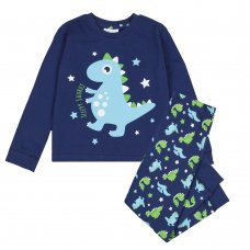 15C457: Infant Boys Dinosaur Pyjama (2-6 Years)