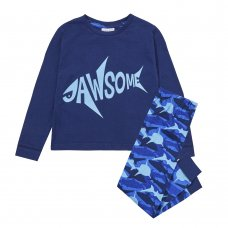 15C459: Infant Boys Shark Pyjama- Jawsome (2-6 Years)
