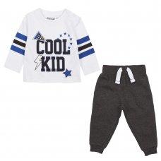 15C461: Baby Boys Cool Kid Top & Jog Pant Set (3-24 Months)