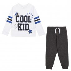15C462: Infant Boys Cool Kid Top & Jog Pant Set (2-6 Years)