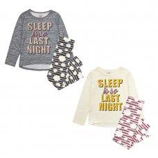 "15C474: Older Girls ""Sleep Is So Last Night"" Pyjama (7-16 Years)"