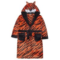 18C460: Older Boys Novelty Tiger Dressing Gown (7-13 Years)