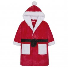 18C481: Infants Novelty Christmas Dressing Gown (2-6 Years)