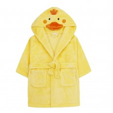 18C512: Infants Novelty Duck Dressing Gown (2-6 Years)