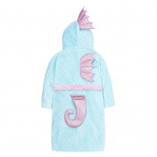 18C528: Older Girls Novelty Seahorse Dressing Gown (7-13 Years)