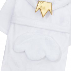 18C535: Infant Girls Novelty Swan Dressing Gown (2-6 Years)