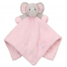 19C198: Baby Novelty Elephant Comforter- Pink