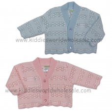 MC3016: Premature Baby Knitted Cardigan