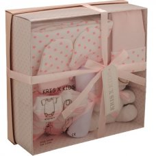 3322P: Pink 7 Piece Luxury Boxed Gift Set (0-3 Months)