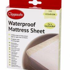 Waterproof Mattress Sheet- Cot/Cot Bed
