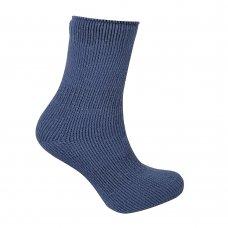 42B308: Boys 1 Pair Plain Thermal Socks (Tog Rating 2.45)