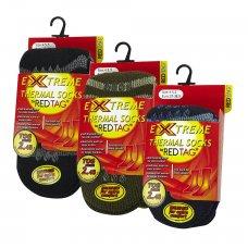 42B310: Boys 1 Pair Thermal Stripe Slipper Socks (Tog Rating 2.45)