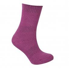 43B317: Girls 1 Pair Plain Thermal Socks (Tog Rating 2.45)