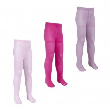 46B437: Girls 60 Denier Microfibre Tights- Assorted (3-12 Years)