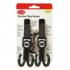 Stroller Bag Hooks (2 pack)