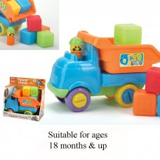 55330: Tipper Truck With Blocks (18+ Months)