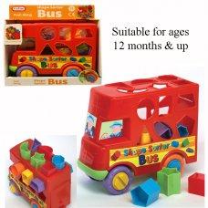 55889: Bus Shape Sorter (12+ Months)
