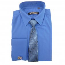 3 Pce Blue St Chiman Shirt (13-14 Years)
