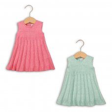 Blossom 3: Knitted Dress (0-12 Months)