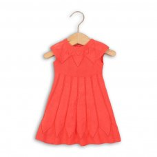 Paris 5P: Knitted Dress With Stitch Detail (12-24 Months)