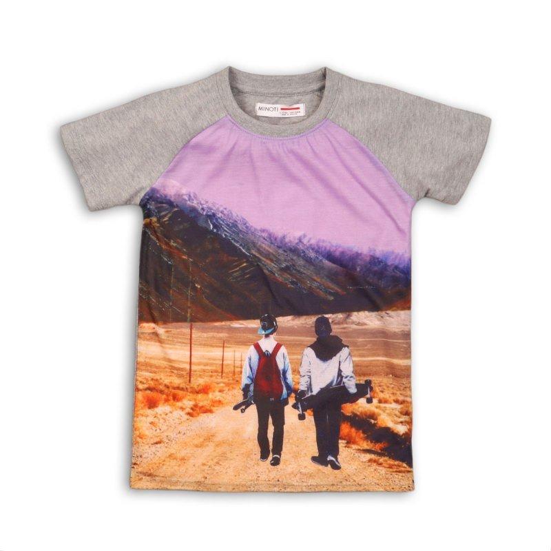 Luxe 11P: Raglan Photo Print T-Shirt (8-13 Years)