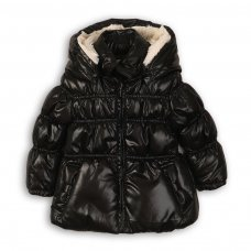 Twist 13P: Pearlies Puffa Fur Lined Jacket (3-8 Years)