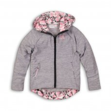 Fearless 2P: Zip Through Hooded Top With Aop Lining (8-13 Years)