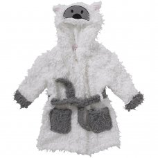 Sheep Hooded Sherpa Fleece Dressing Gown (6-11 Years)