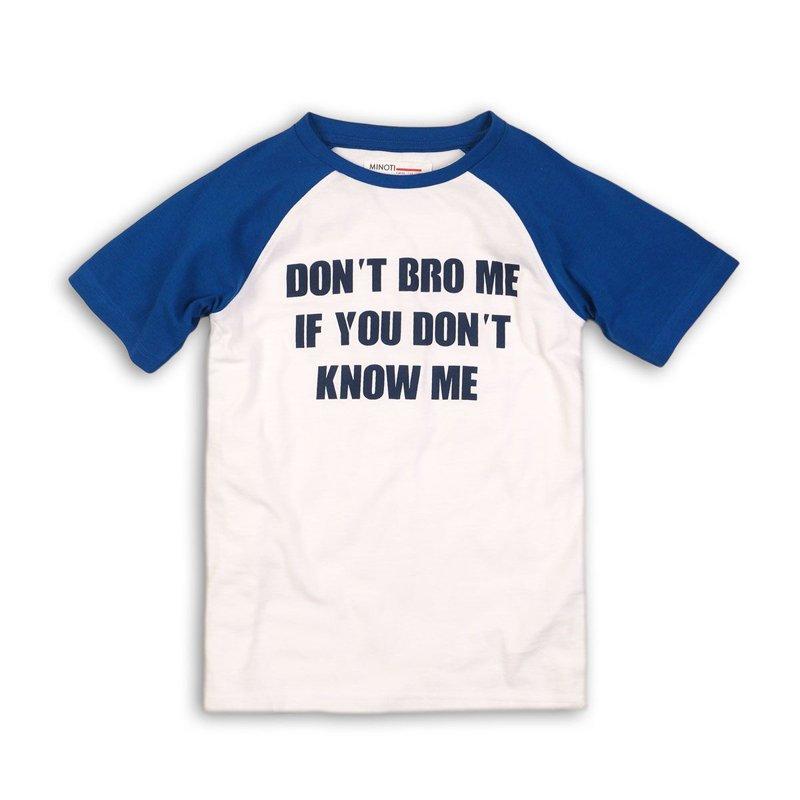 KB TSHIRT 23P: Don't Bro Me Raglan T-Shirt (8-13 Years)