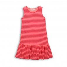 KGB DRESS 11P: Pink Stripe Dress (8-13 Years)