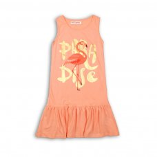 KGB DRESS 14P: Pink Paradise Dress (8-13 Years)