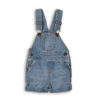 Coconut 4P: Denim Bibshort (12-24 Months)