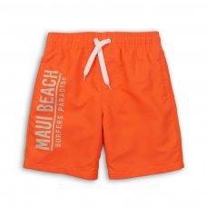 KB BOARD 11P: Maui Beach Print Board Swim Shorts (8-13 Years)