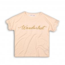 Tumbleweed 4P: Short Sleeve Top With Lace Sleeve Detail (8-13 Years)