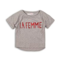 Union 2P: Slouch T-Shirt With Embossed Glitter Motif (8-13 Years)