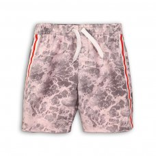 KB BOARD 10P: Ocean Print Board Swim Shorts (8-13 Years)